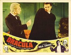 Dracula 1931 Movie Poster Lobby Card Size Style Q available here: http://www.classichorrorposters.com/shop/11x14-inch-lobby-card-size-posters/dracula-1931-movie-poster-lobby-card-size-style-q/