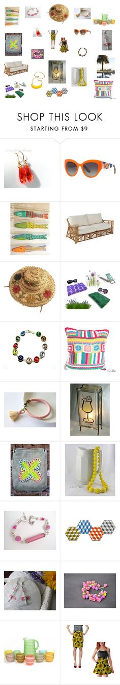 """""""Lazy Afternoons - gifts for Mum"""" by einder ❤ liked on Polyvore featuring interior, interiors, interior design, home, home decor, interior decorating, Dolce&Gabbana, Giallo and Blume"""