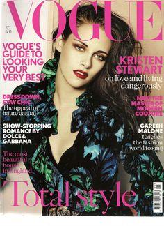 Kristen Stewart para Vogue edición de octubre