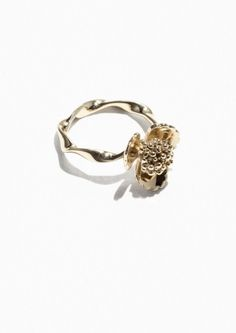 & Other Stories | Flower Bomb Ring