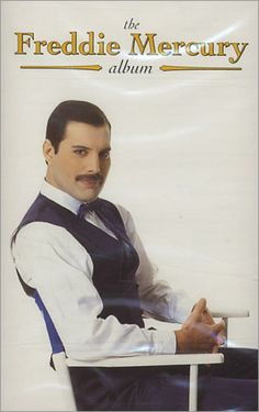 """The Freddie Mercury Album is a posthumous solo project with material from Queen frontman and vocalist Freddie Mercury released in 1992. The album is mainly made up of remixes from his past releases, as well as the original versions of """"Barcelona"""", """"Love Kills"""", """"Exercises in Free Love"""", and """"The Great Pretender"""". Released  November 16, 1992 Recorded 1983–1988 Freddie Mercury Quotes, Queen Freddie Mercury, Queen Album Covers, Mr Fahrenheit, Queen Albums, Queen Band, Killer Queen, Vinyl Cover, Day Of My Life"""