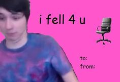 dan and phil valentine's day video tumblr