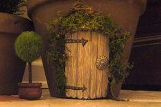 flower pot fairy house - Google Search