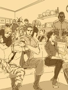 roccさんの手書きブログ 「810」 手書きブログではインストール不要のドローツールを多数用意。すべて無料でご利用頂けます。 Resident Evil Anime, Resident Evil Girl, Jill Valentine, Valentines Art, Resident Evil Franchise, Resident Evil Collection, Albert Wesker, Evil World, The Evil Within