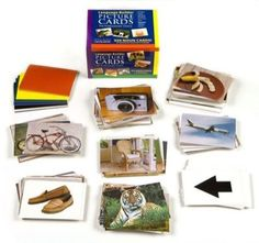 The Language Builder Photo Cards. Picture Nouns