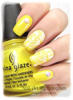 Nail Art by Belegwen: China Glaze Happy Go Lucky