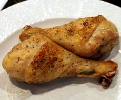 Oven Baked Chicken Legs - The Art of Drummies from 101 Cooking For Two