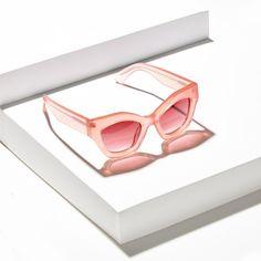 Jonathan Saunders, Sunglasses, architecture, still life, eyewear Shot by Winter Studios
