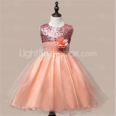 Girl's  Fashion Leisure Sleeveless Flowers Gauze Formal Dress - CAD $18.06 ! HOT Product! A hot product at an incredible low price is now on sale! Come check it out along with other items like this. Get great discounts, earn Rewards and much more each time you shop with us!