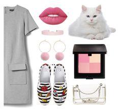 """Little Grey Dress"" by ruama-haine on Polyvore featuring moda, Banana Republic, BP., Humble Chic, Chanel, Lime Crime e Laura Mercier"