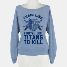 train like you've got titans to kill