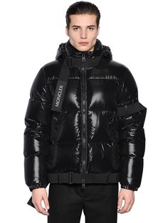 MONCLER CRAIG GREEN HOODED JACKET. #moncler #cloth #