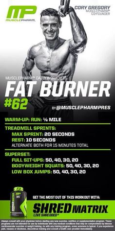 Muscle Pharm - Fat Burner Workout
