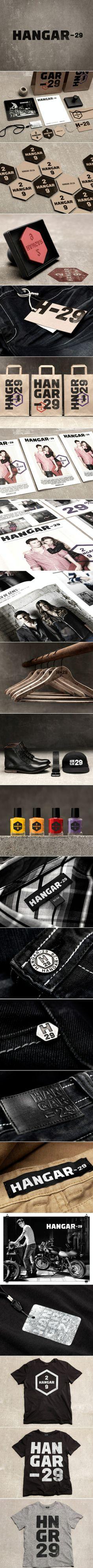by lg2boutique.com Branding Client: Hangar-29