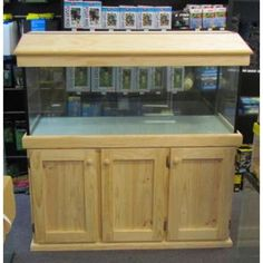 """Fish Tank 4Ft X 18"""" X 18"""" High With Cabinet And Hood – Melbourne Tropical Fish"""