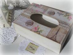 Caja portapañuelos. https://www.facebook.com/dulce.soffia