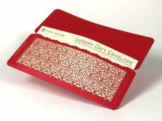 Corte del laser sistema de envoltura de regalo de 6   Único + hermosos sobres para certificados de regalo y más, regalo de la graduación, regalo de cumpleaños: Barcelona