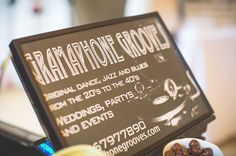 Gramophone Grooves - photo by Evoke Pictures: Bristol Vintage Wedding Fair