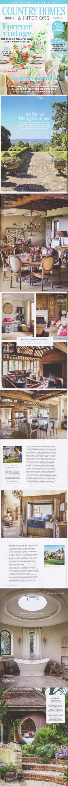 Country Homes & Interiors July 2018  Featuring the Guildford Project by Back to Front Exterior Design