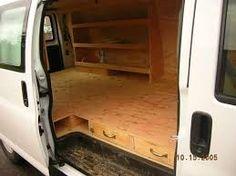 Image result for van shelving