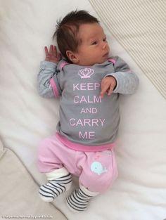 """""""Keep Calm"""" – Geschenkidee! Süße T-Shirts (mit prakischen Amerikanischen Ausschnitten) nach dem Freebook von Schnabelinas Regenbogenbody und mit coolem Plotter-Freebie!"""