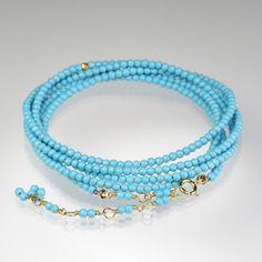 Quadrum - Summer Essentials - #AnneSportun turquoise wrap bracelet