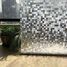 2M Privacy Frosted Frost Film Cover Home Bedroom Glasses Window Decor PVC Films