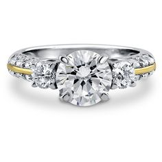 BERRICLE Gold Plated Sterling Silver Round CZ 3 Stone Engagement... ($50) ❤ liked on Polyvore featuring jewelry, rings, clear, sterling silver, women's accessories, 3 stone diamond ring, sterling silver rings, round cut engagement rings, cubic zirconia engagement rings and three stone engagement rings