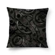 Almofada GEAR de jefersoncalongana #colab55. Tags: engrenagens metal cyborg Sofa Cushions, Pillows, Alexander Mcqueen Scarf, Gears, Metal, Throw Pillows, Couch Pillows, Sofa Pillows, Gear Train