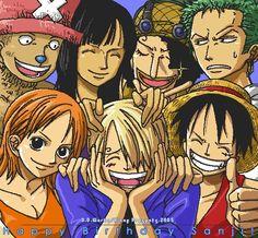 Monkey D Luffy Roronoa Zoro Sanji Vinsmoke Nami Usopp Tony Tony Chopper Nico Robin Straw Hat Crew Pirates Mugiwaras One Piece