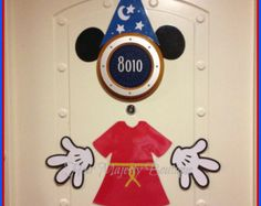 Mickey Mouse Sorcerer Body Part Magnet for Cruise Door