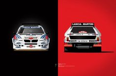 Group B Edition, Lancia Delta Art Print by Ricardo Santos Lancia Delta, Supercars, Cool Car Pictures, Car Pics, Illustration Sketches, Illustrations, Mechanical Art, Martini Racing, Ex Machina