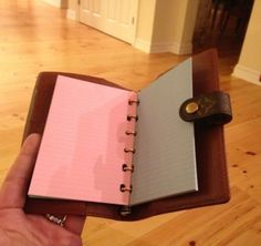 Notepaper Refill Insert Fits Louis Vuitton PM Agenda Diary Cover | eBay