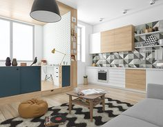"""Check out new work on my @Behance portfolio: """"Micro apartment"""" http://be.net/gallery/31589805/Micro-apartment"""