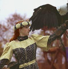 "Romily MacAran, heroine of "" Hawkmistress! Fantasy Art, Fancy, Drawings, Photography, Painting, Dresses, Fashion, Vestidos, Moda"