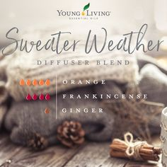 can't wait to try this in my oil diffuser! Orange, Frankincense and Ginger essential oils from Young Living Oils Fall Essential Oils, Ginger Essential Oil, Essential Oil Diffuser Blends, Essential Oil Uses, Young Living Essential Oils, Doterra Diffuser, Living Oils, Aromatherapy Oils, Diffuser Recipes