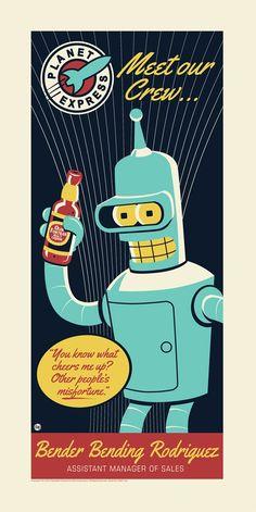 Bender by Dave Perillo