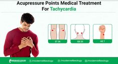 Tachycardia can be treated by pressing acupressure points such as ST36 and GB20. #Modernreflexology #Reflexology #Acupressure #Pressurepoint #Tachycardia #Dysautonomia #Chronicpain #Health Acupressure Points, Reflexology, Chronic Pain, Medical, Health, Christmas, Xmas, Health Care, Medicine