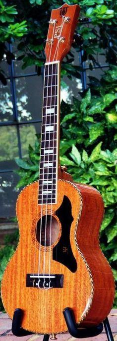 PSI Deluxe Tenor #LardysUkuleleOfTheDay #Ukulele ~ https://www.pinterest.com/lardyfatboy/lardys-ukulele-of-the-day/ ~