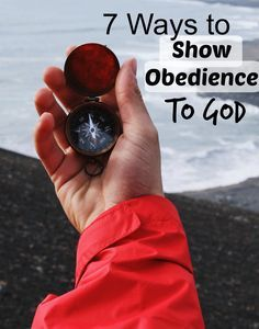 God demands our obedience, and we should WANT to give it to him! However, I think it can sometimes be a little bit hard to figure out where to begin when it comes to being completely obedient to God. This post is for you if you're looking for ways to show obedience to God that you can implement in your everyday life. This will be so worth it! Click through to read more!