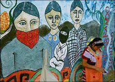 """Mural Zapatista """"Sembrando dignidad"""""""