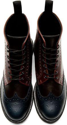9252585f67a4 Dr. Martens wingtip boots for Men