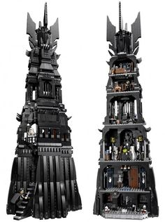 #10237 LEGO Lord of the Rings Tower of Orthanc - http://thebrickblogger.com/2013/04/lego-lord-of-the-rings-tower-of-orthanc/