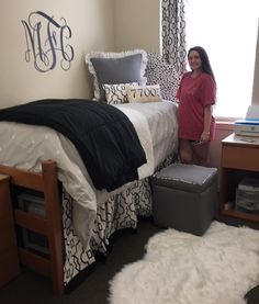 University of Alabama Dorm Room