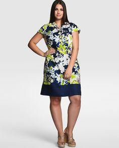 Vestido corto de mujer tallas grandes