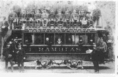 1888. Tramvia Imperial a cavalls per l'Exposició Universal a Barcelona