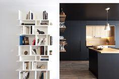 appartement style industriel paris buttes chaumont cuisine pinterest. Black Bedroom Furniture Sets. Home Design Ideas