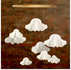 Cute mobile for baby room!