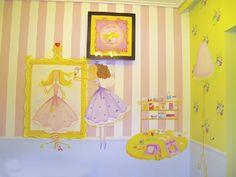 παιδικό δωμάτιο με νεράιδες