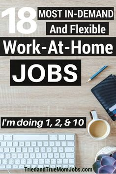 Take a look at the top 18 ways to make money from home and learn how to get started and where to apply. #workfromhome #legitimateworkfromhomejobs #makemoneyonline #howtomakemoneyonline